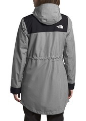 The North Face Metroview Trench Water Repellent & Windproof Rain Coat