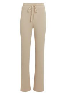 The Range Mass Rib Knit Straight-Leg Trousers