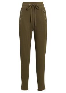 The Range Rib Knit High-Rise Sweatpants