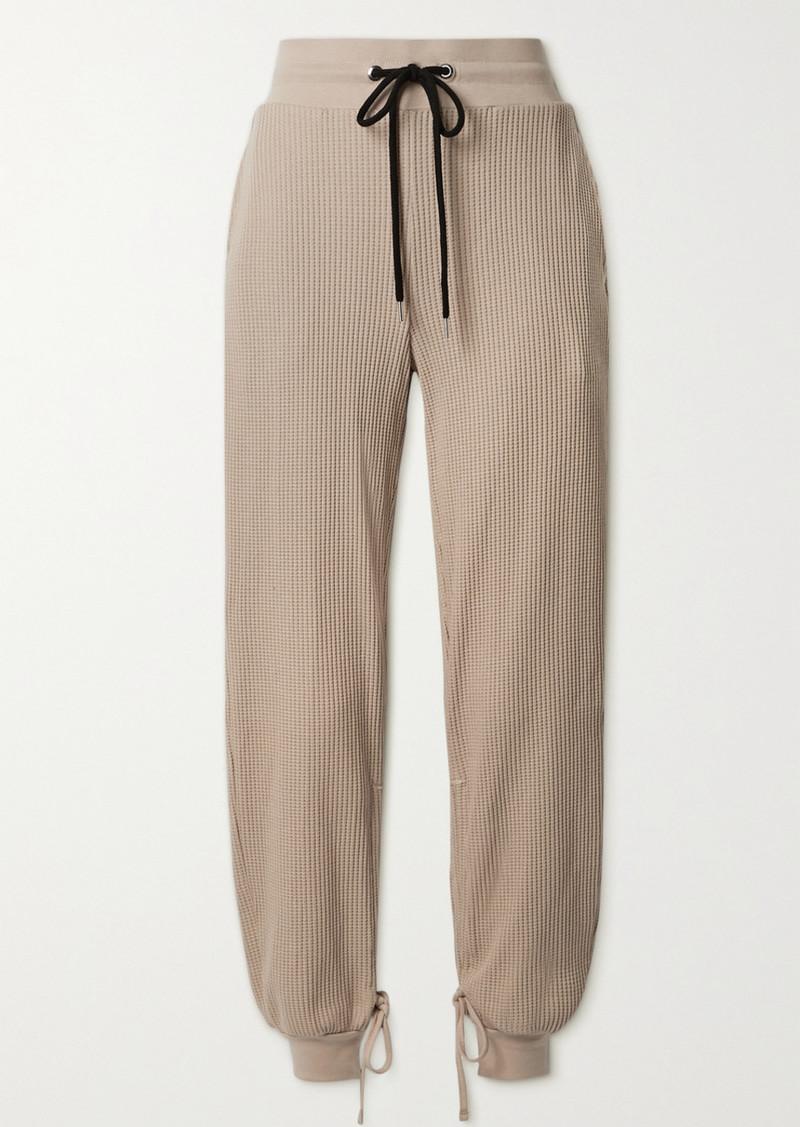 The Range Stark Waffle-knit Cotton-blend Track Pants