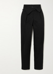 The Range Stretch-cotton Twill Tapered Pants