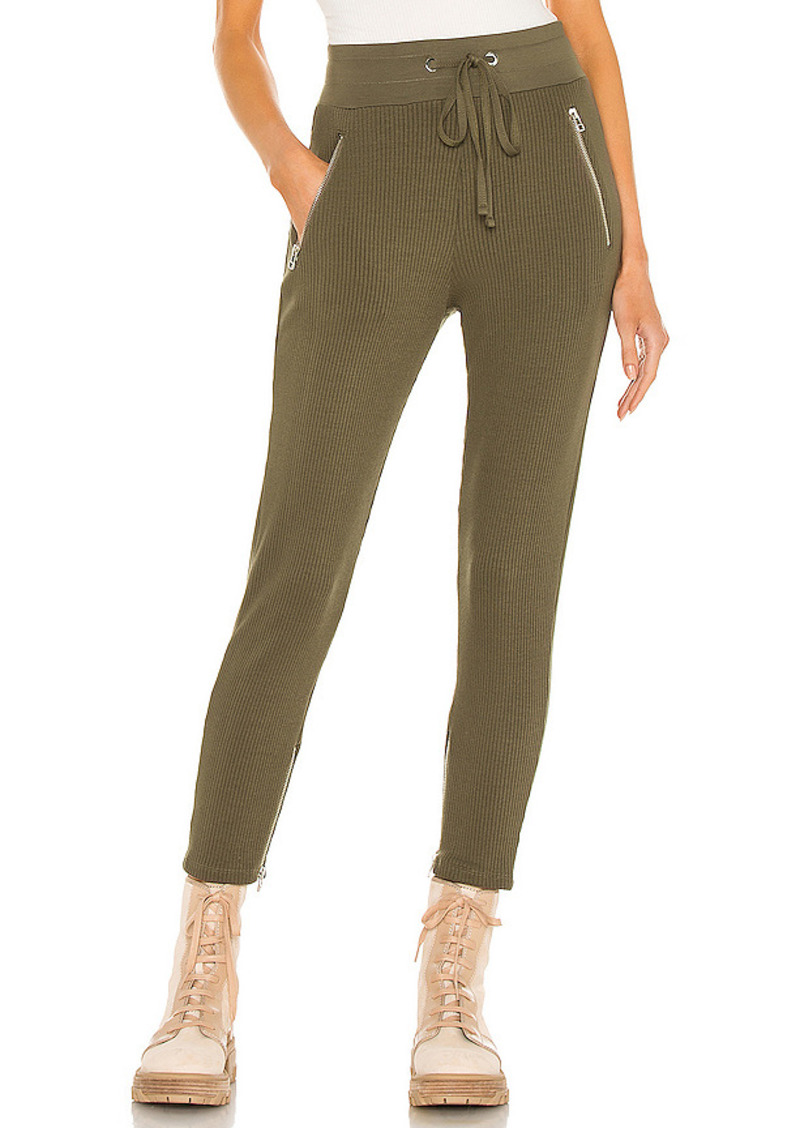The Range Alloy Rib Zip Pant