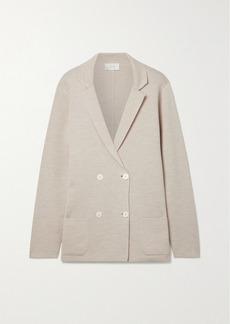 The Row Chopok Oversized Merino Wool And Silk-blend Blazer
