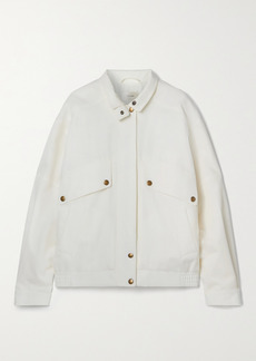 The Row Efren Cotton Bomber Jacket