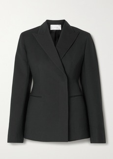 The Row Lanois Double-breasted Wool-blend Blazer