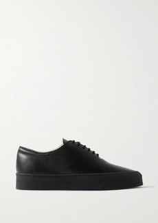 The Row Marie H Leather Sneakers