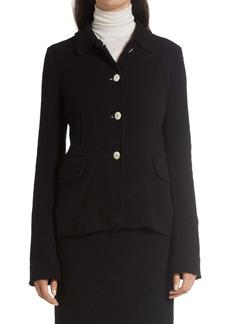 The Row Annica Bouclé Jersey Jacket