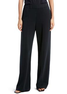 The Row Cesto Wide Leg Cotton Jersey Pants