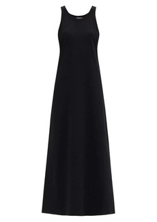 The Row Elkie Pima-cotton jersey maxi dress