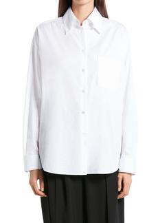 The Row Gilles Cotton Poplin Shirt