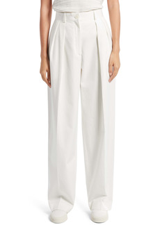 The Row Igor Washed Cotton Pants