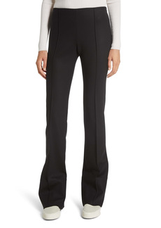 The Row Kriss Double Stretch Wool Straight Leg Pants