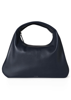 The Row Small Everyday Leather Shoulder Bag