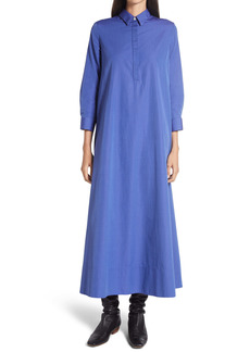 The Row Tanita Swiss Cotton Shirtdress