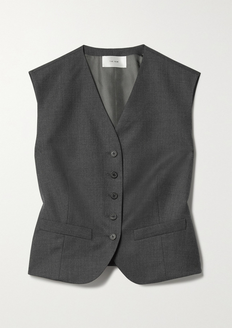 The Row Vega Wool Vest