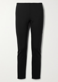 The Row Woolworth Stretch-ponte Leggings