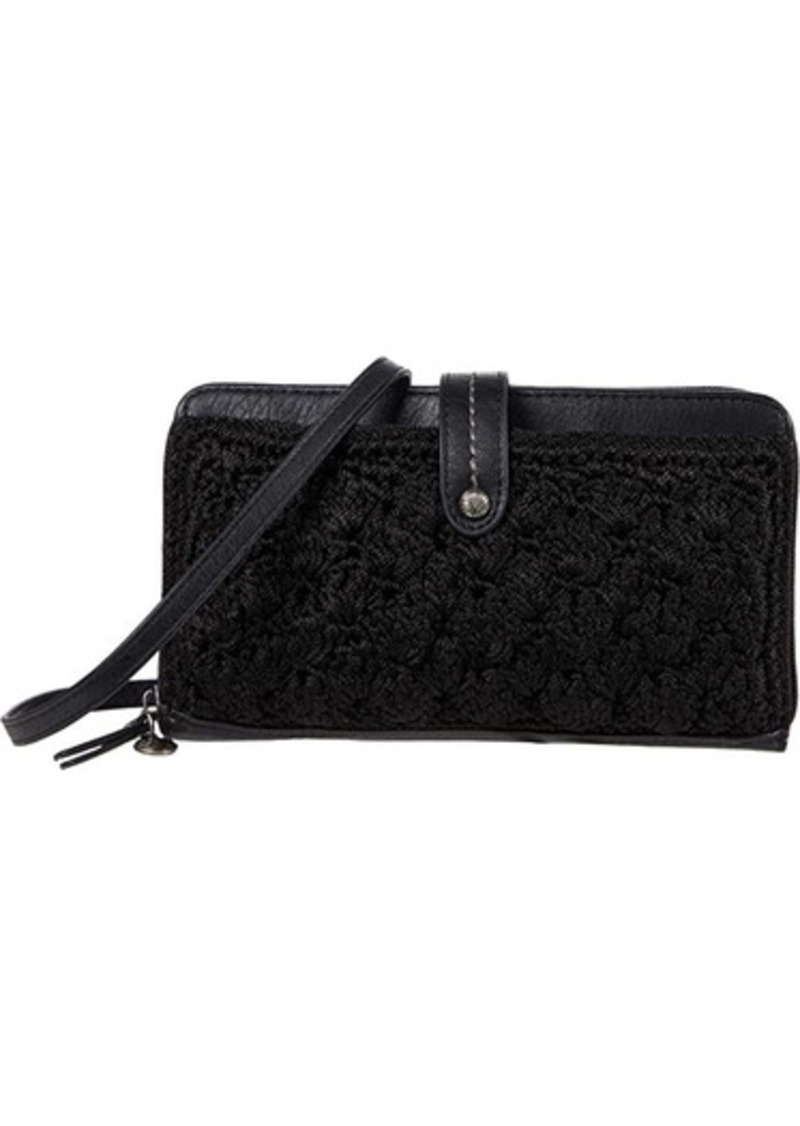 The Sak Iris Crochet Smartphone Crossbody