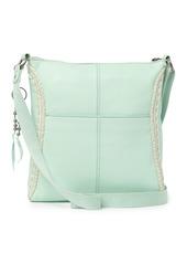 The Sak Lucia Leather Crochet Crossbody Bag