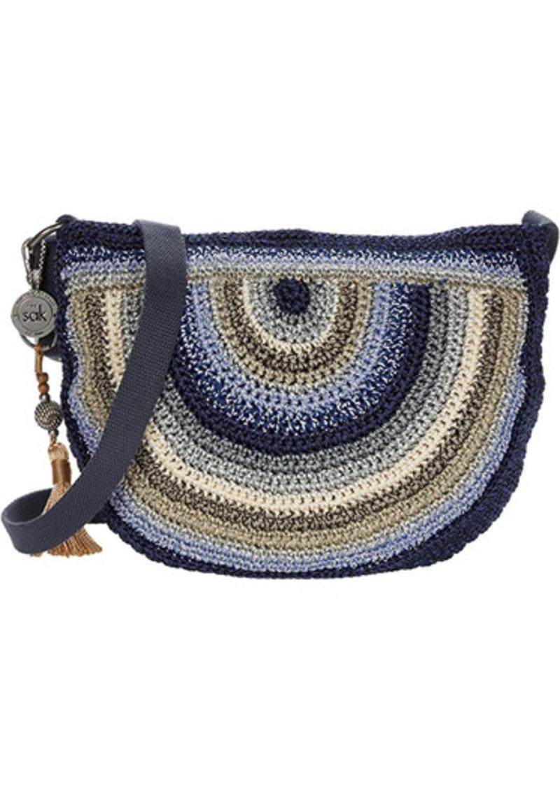 The Sak Ryder Crochet Crescent Crossbody