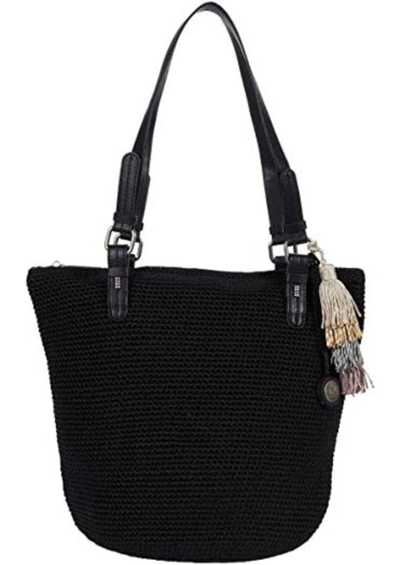 The Sak Silverwood Crochet Shopper