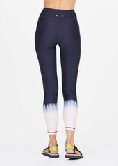 The Upside Seawater Dip Dye Midi Leggings