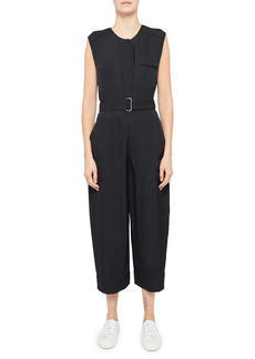 Theory Belted Cargo Jumpsuit