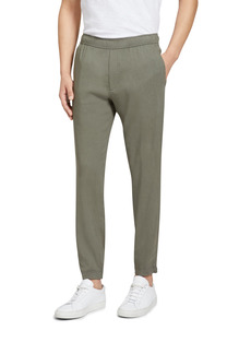 Theory Curtis Slim Fit Flat Front Ankle Trousers
