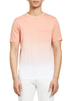 Theory Essential Ombré Pocket T-Shirt