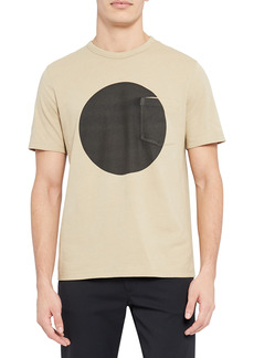 Theory Essential Sphere Pocket Graphic Tee