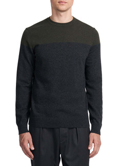 Theory Hilles Crewneck Cashmere Sweater