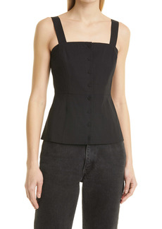 Theory Kayleigh Front Button Camisole