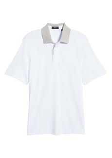 Theory Kayser Regular Fit Short Sleeve Polo