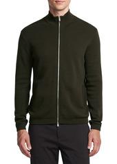 Theory Stone Full Zip Sweater