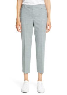 Women's Theory Treeca 4 Wool Blend Crop Trousers