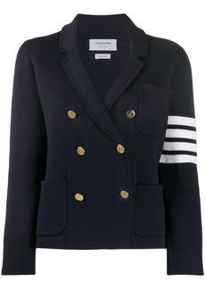 Thom Browne 4-Bar double-breasted jacket