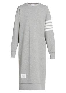 Thom Browne 4-Bar Midi Dress
