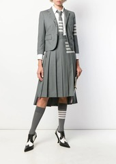 Thom Browne 4-Bar plain weave suiting jacket
