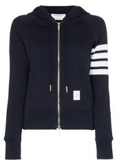 Thom Browne 4-Bar stripe hoodie