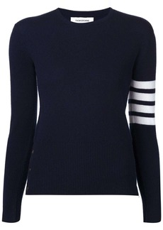 Thom Browne 4-Bar stripe jumper
