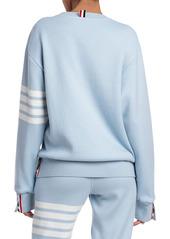 Thom Browne Relaxed Crewneck Sweatshirt