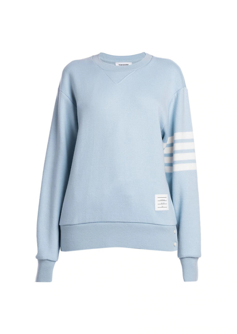 Thom Browne Relaxed Crewneck Sweatshirt