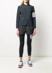 Thom Browne 4-Bar tech compression zip-up jacket