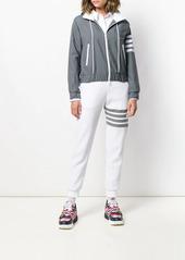 Thom Browne 4-Bar zip-up ripstop hoodie