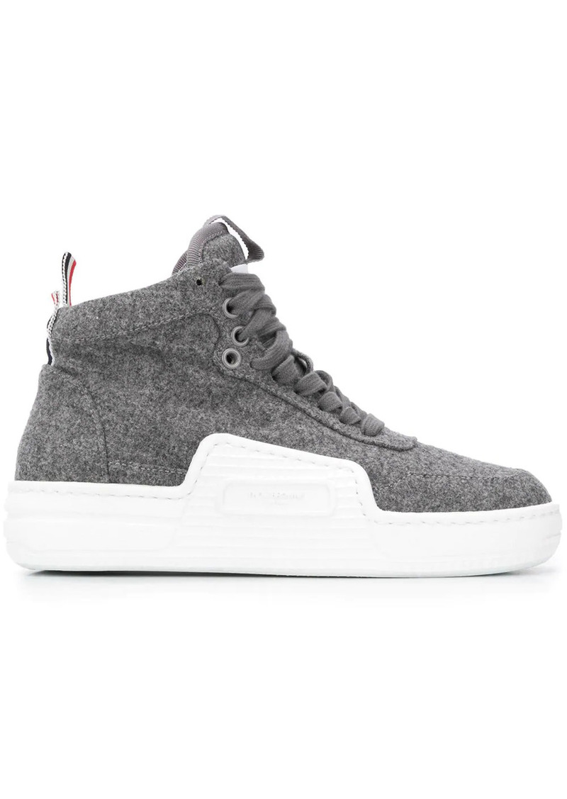 Thom Browne basketball high-top sneakers