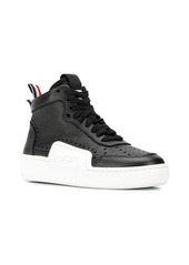 Thom Browne basketball high top sneakers