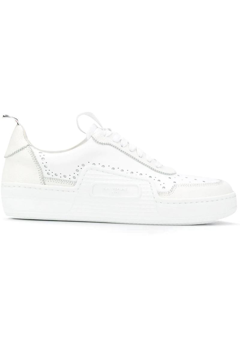 Thom Browne Basketball pebbled low-top sneakers