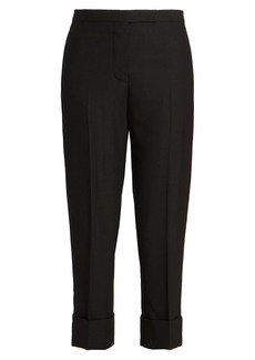 Thom Browne Classic Backstrap Cropped Trousers