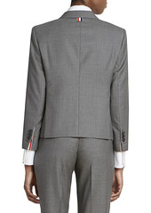 Thom Browne Classic Cropped Wool Jacket