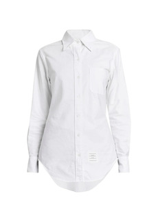 Thom Browne Classic Oxford Button Down Shirt