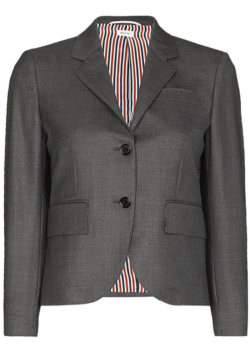 Thom Browne Classic Single Breasted Sport Coat In Super 120'S Twill